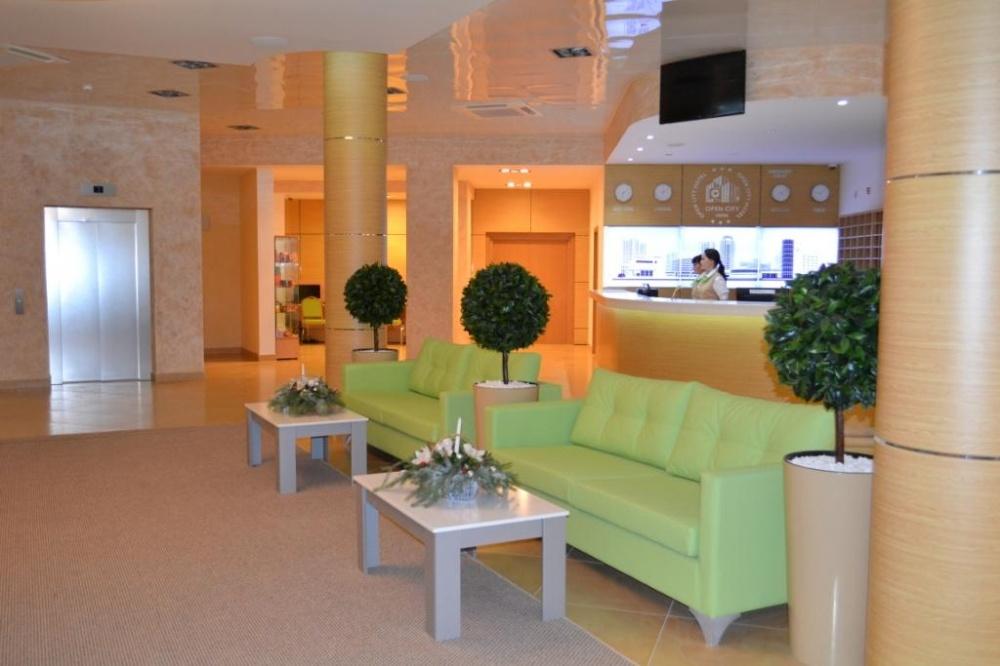 дизайн интерьера общественных зон гостиницы