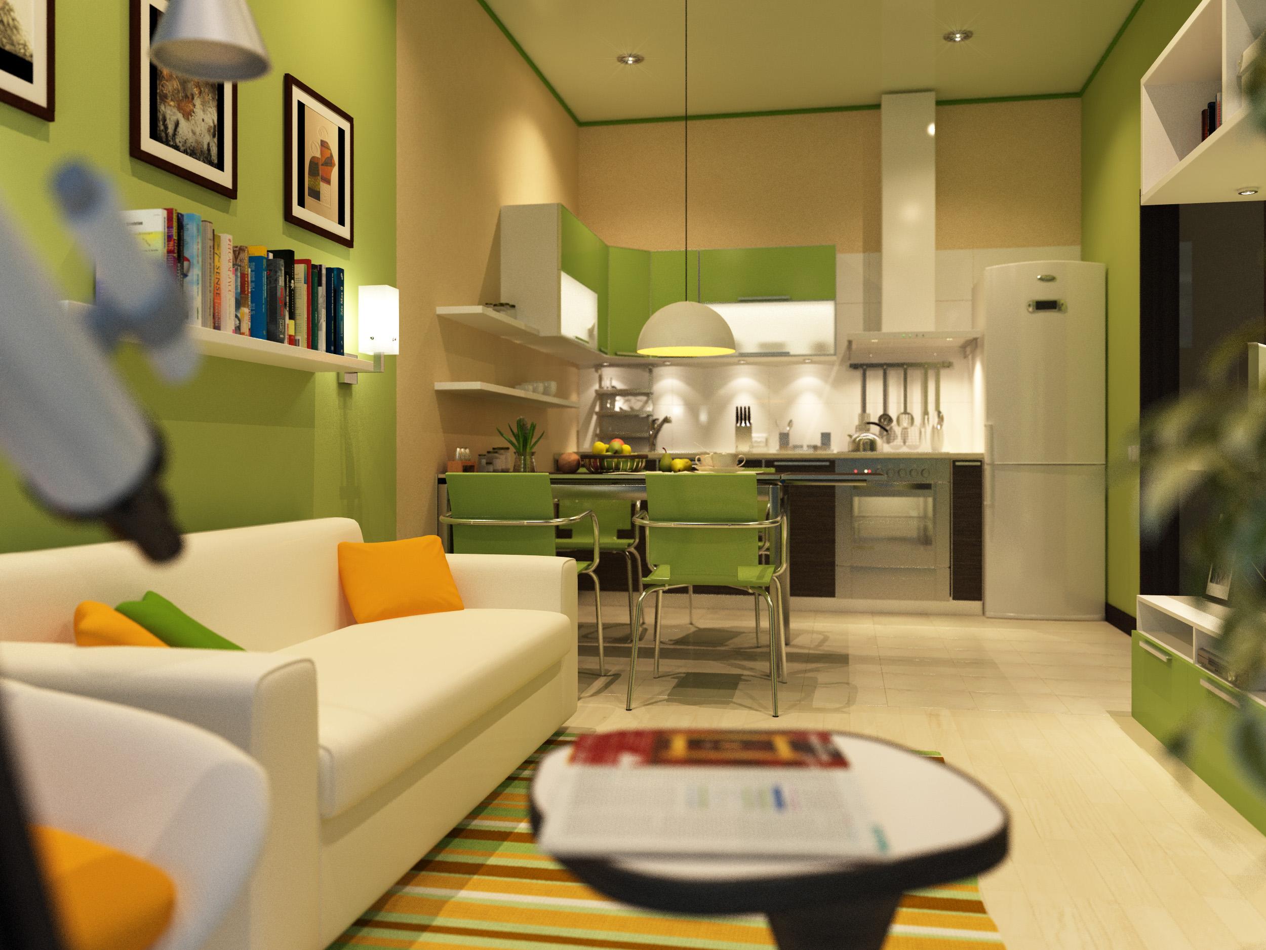 Зона отдыха на кухне дизайн