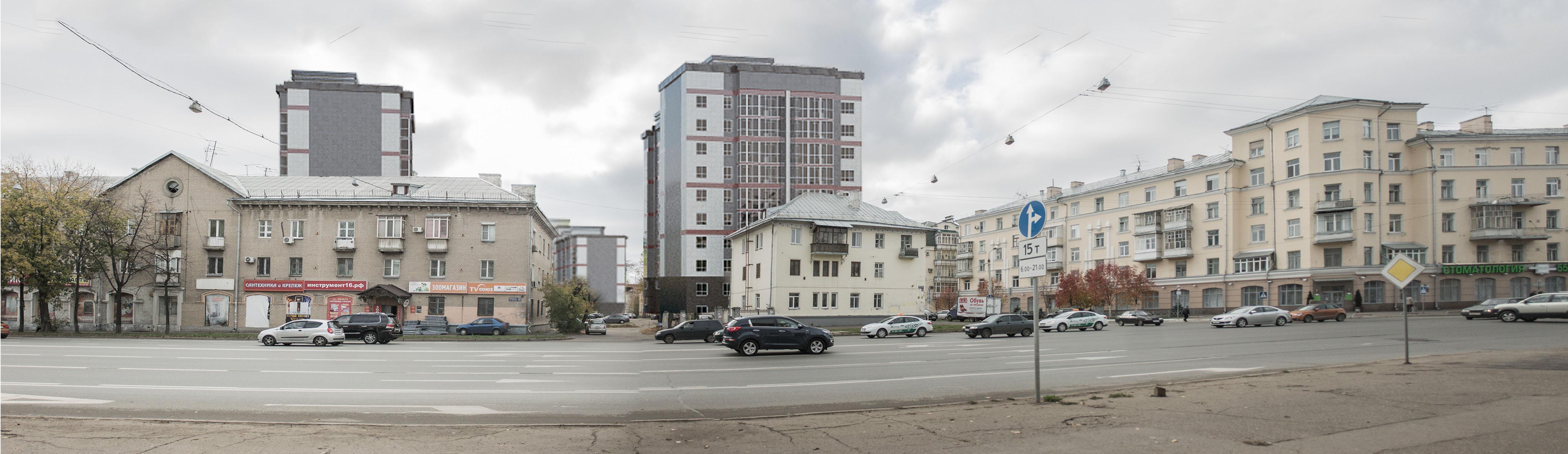 эскизный проект и визуализация жилого комплекса