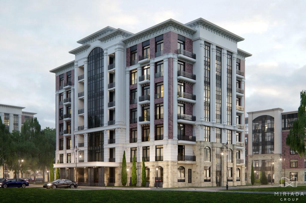 3D Визуализация жилых домов в Подмосковье