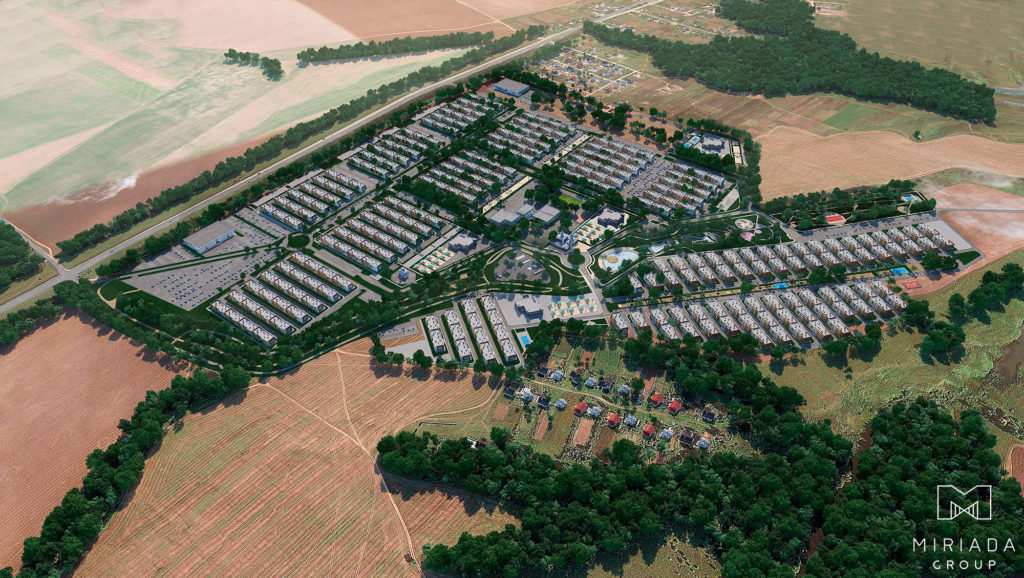 Проект загородного посёлка