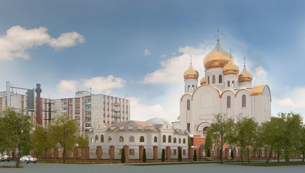 проект здания собора