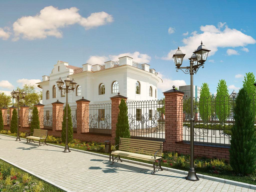 Эскизный проект здания епархиального управления