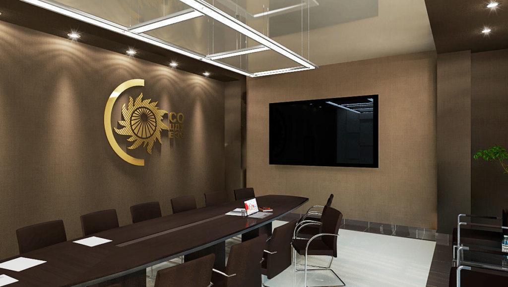 Дизайн интерьеров офисного здания