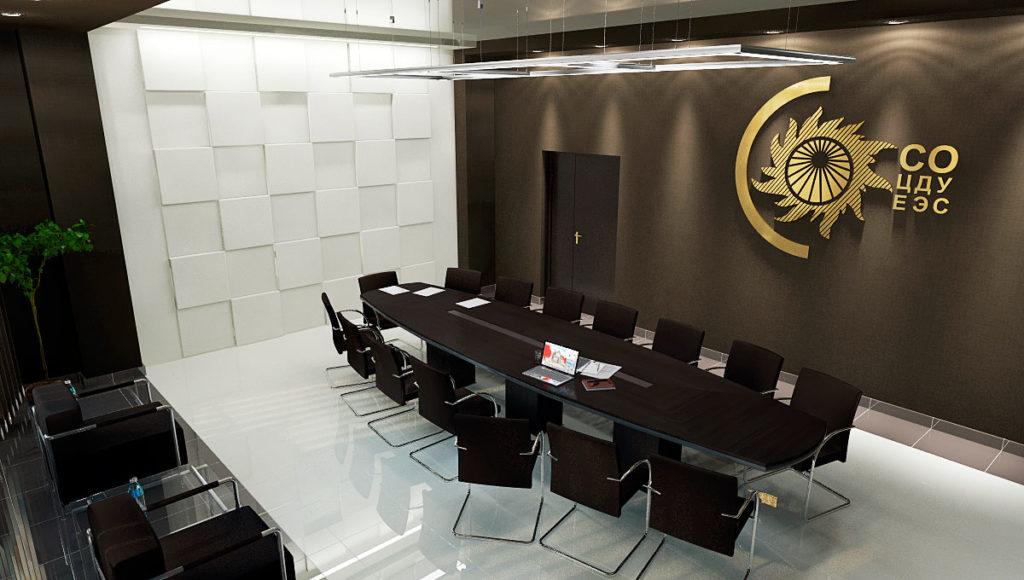 Дизайн интерьера зала совещаний