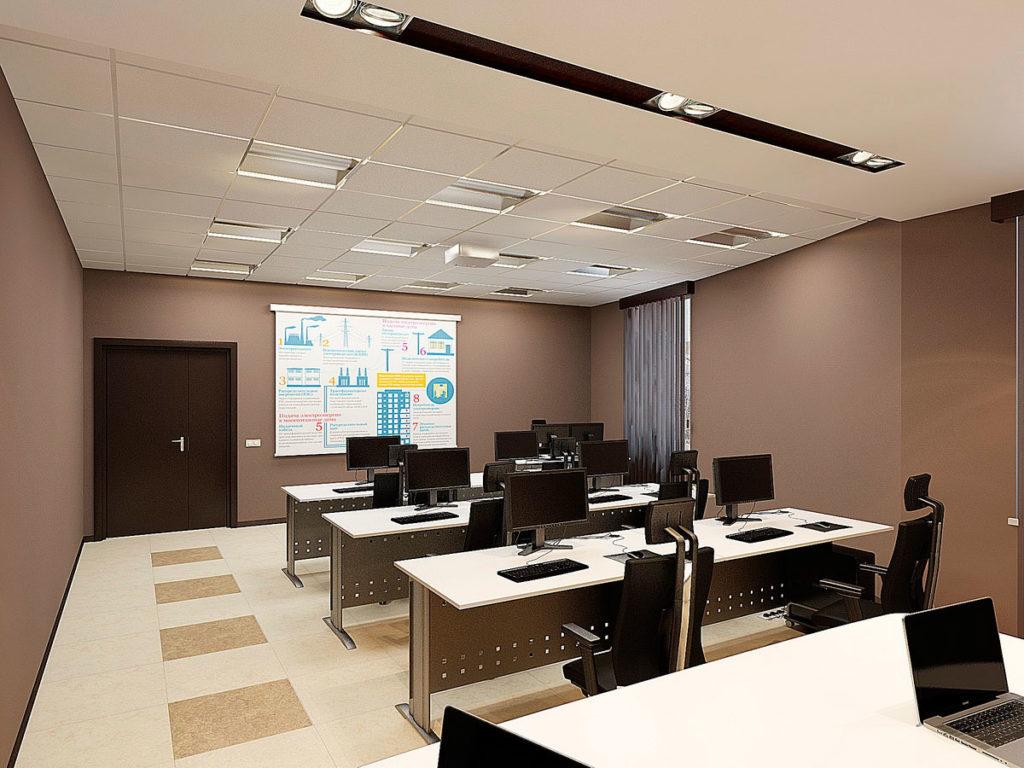 Дизайн интерьеров учебного класса