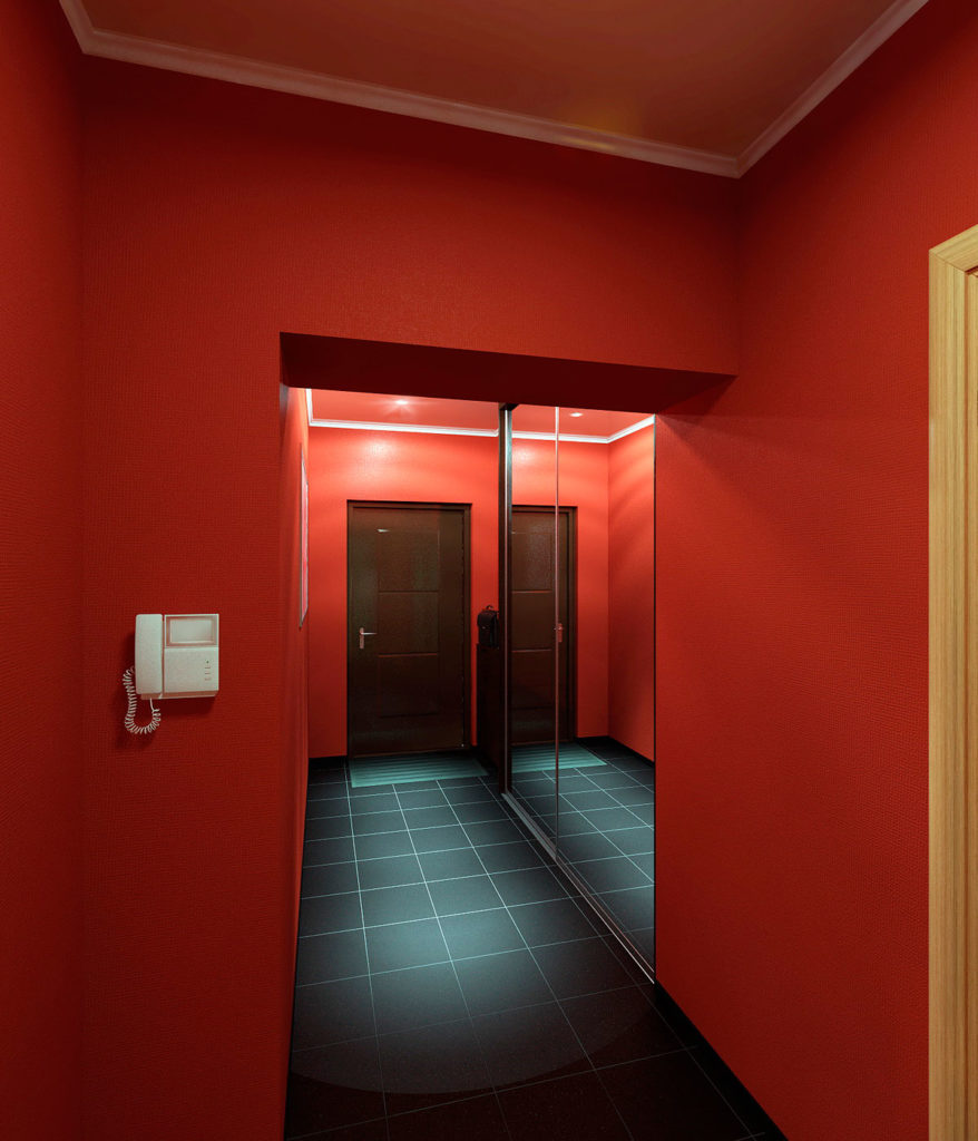 Дизайн интерьера коридора казань