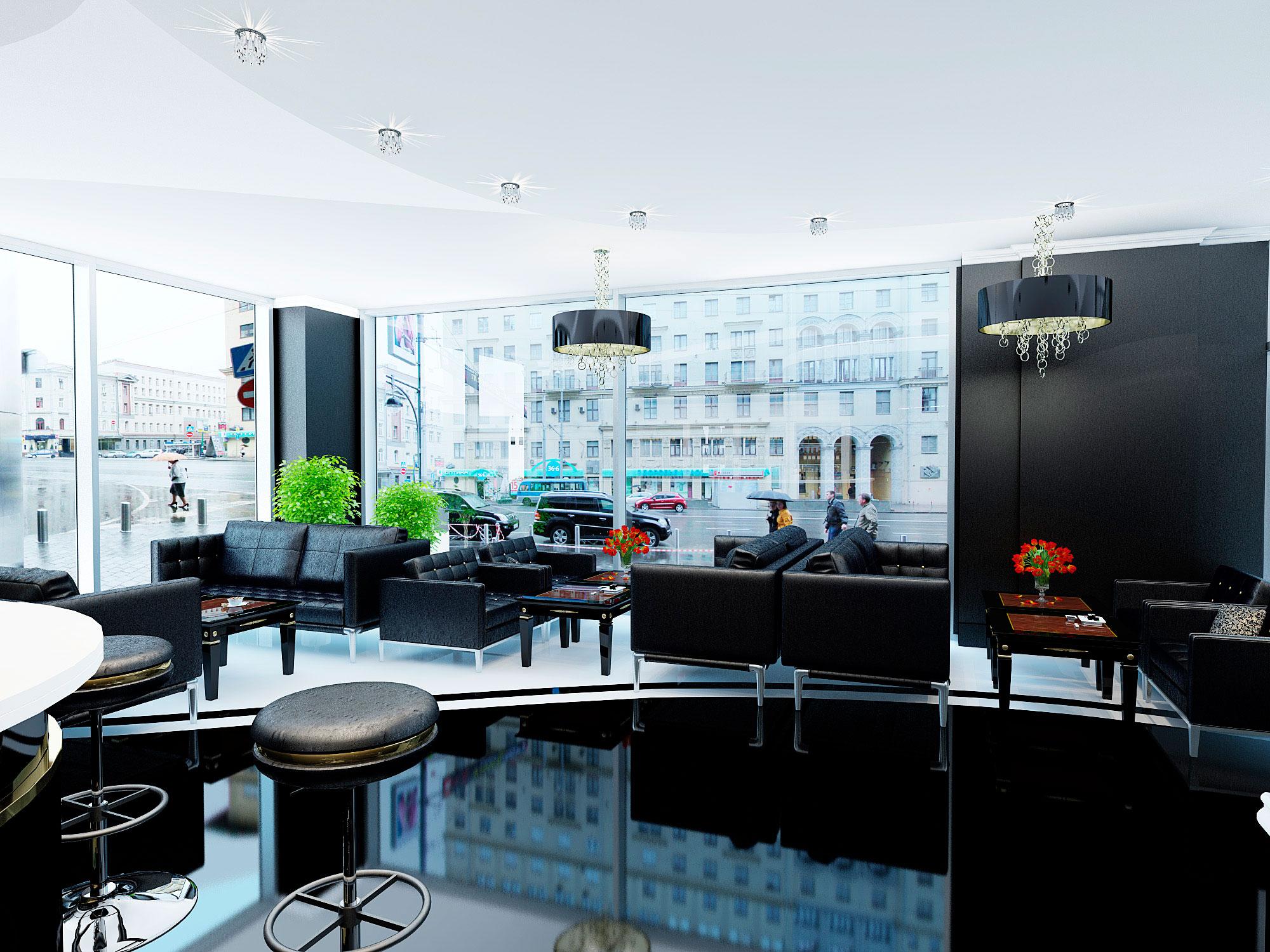 Дизайн кафе в Москве