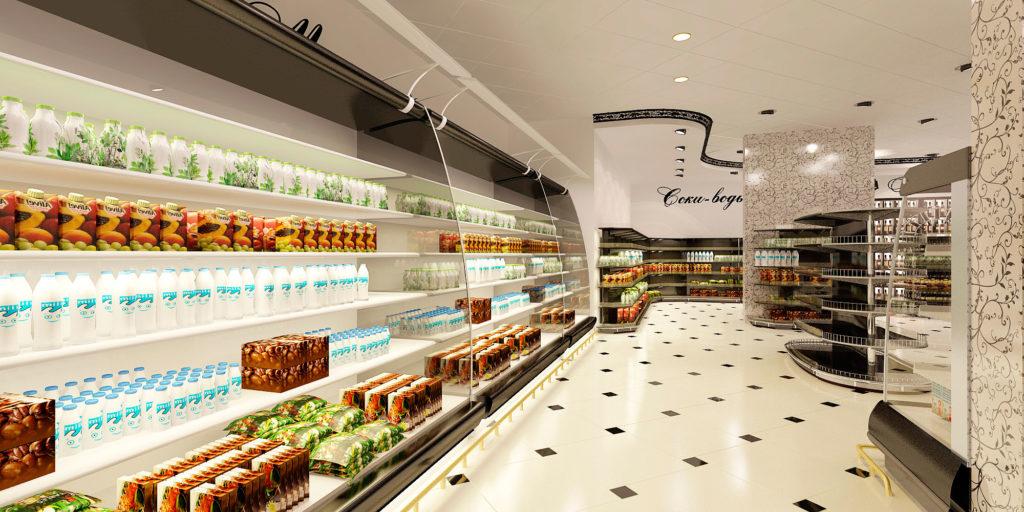 дизайн витрин магазина в Москве