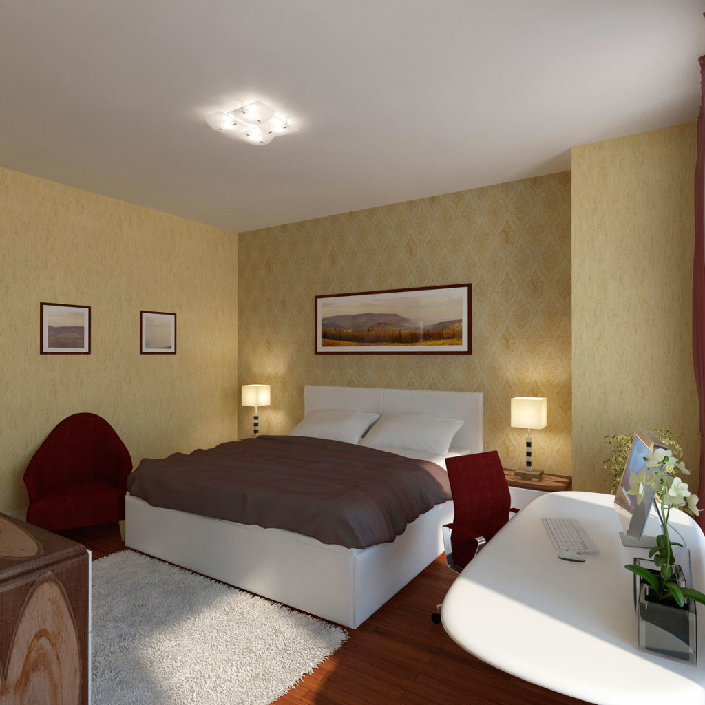 Дизайн женской спальни Казань