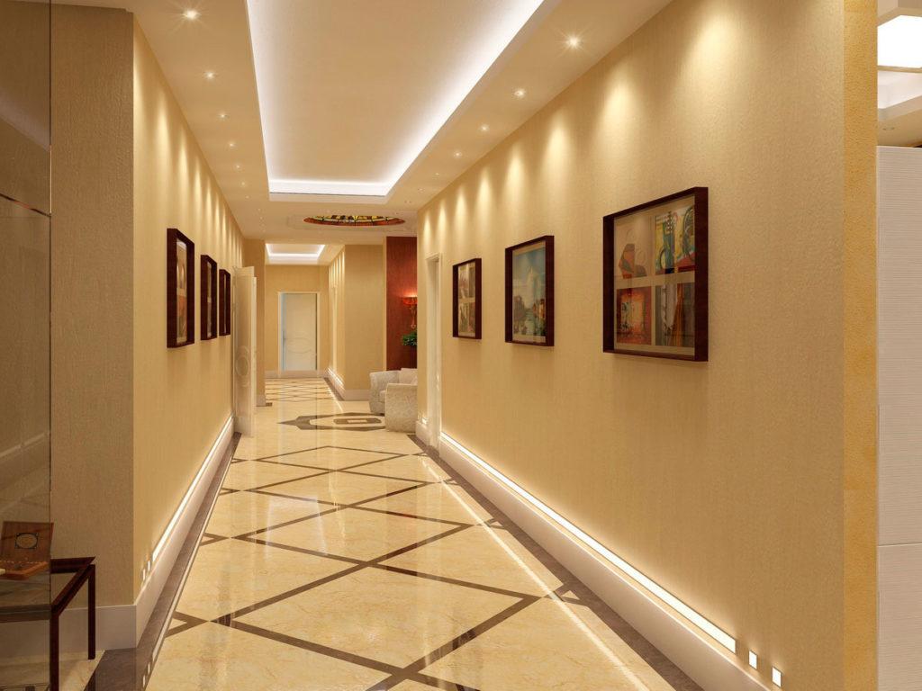 Дизайн коридора в квартире Казань