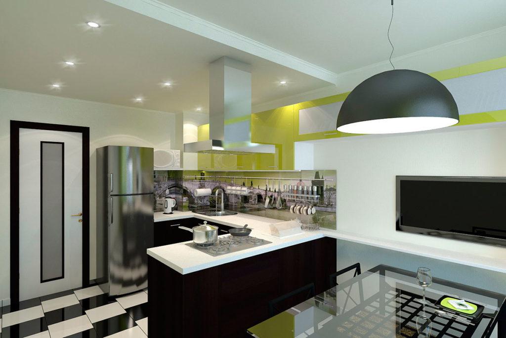 дизайн интерьера кухни в квартире