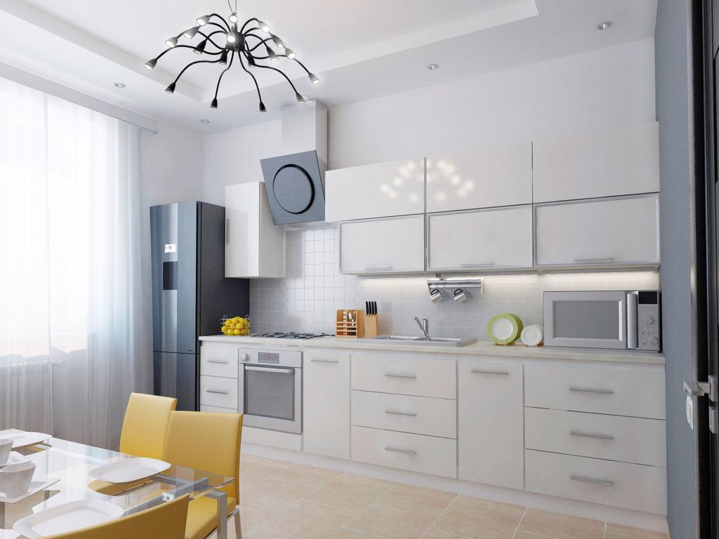Дизайн проект интерьера кухни в Москве