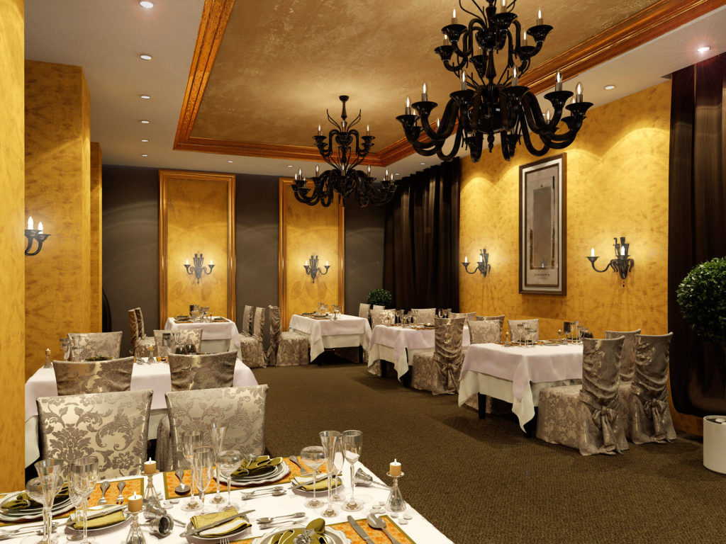 Дизайн VIP-зоны ресторана